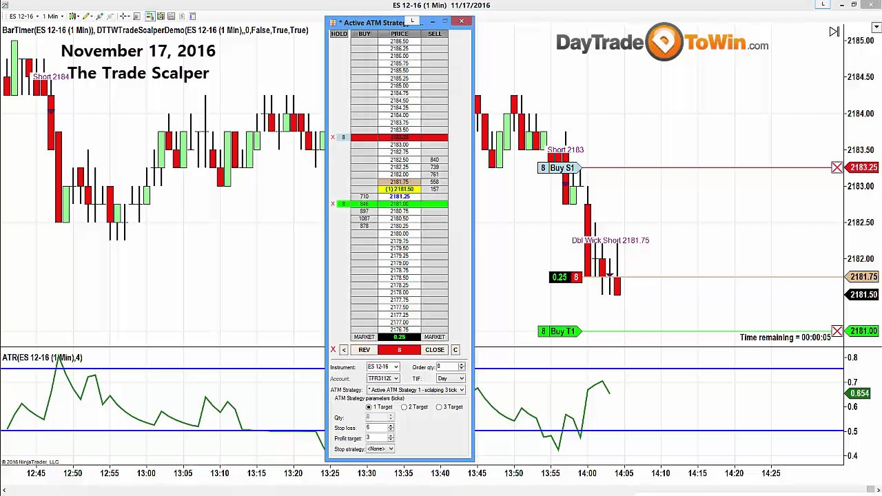 Scalping Software Review The Trade Scalper 2 3 Ticks Any Market
