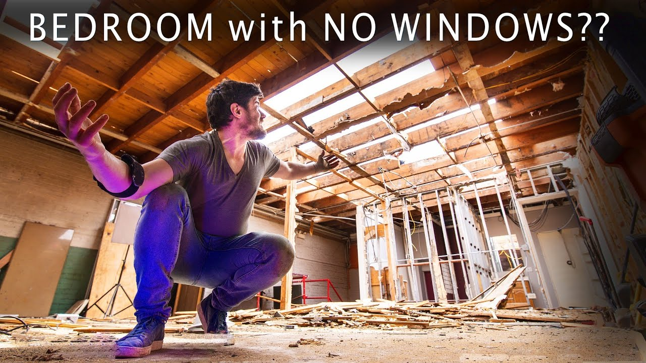Ep. 03 SKYLIGHTS INSTEAD of WINDOWS & New Roof // Abandoned Bldg Renovation