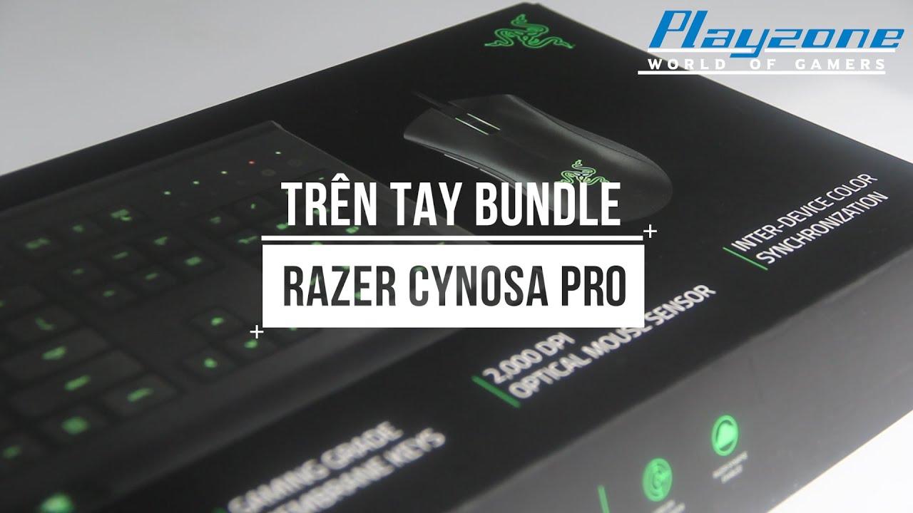 [Playzone TV] Trên tay bộ phím chuột: Razer Cynosa Pro bundle