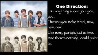One Direction- Everything About You Lyrics