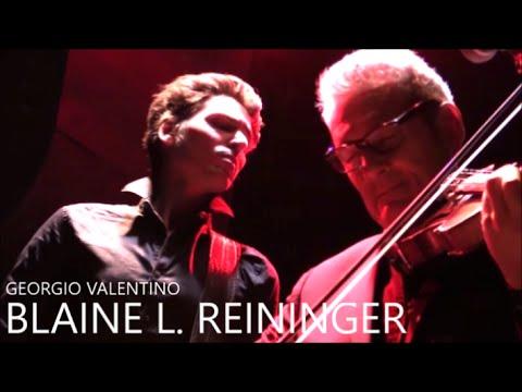 BLAINE L  REININGER & GEORGIO VALENTINO LIVE IN PARIS AU PETIT BAIN LE 28 OCTOBRE 2015