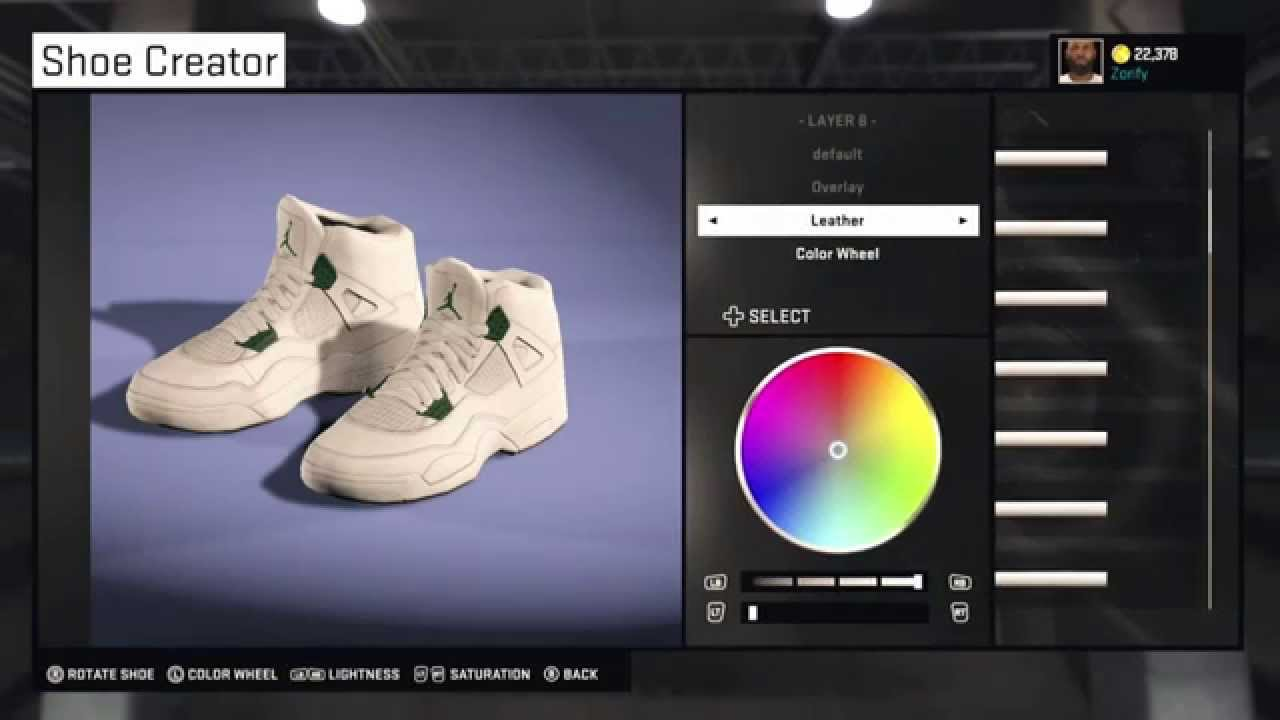 1c5960f4217 NBA 2K15 Shoe Creator - Air Jordan 4