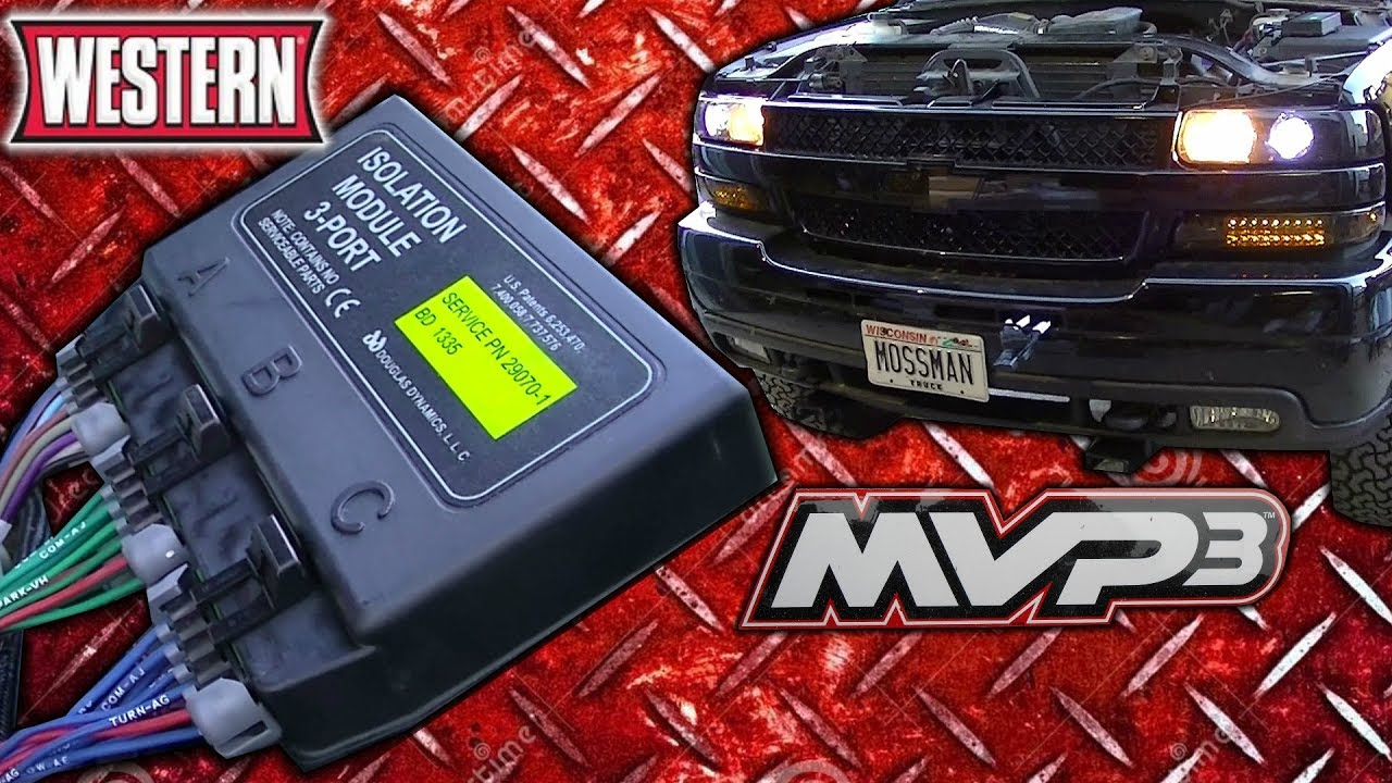 fisher plow wiring diagram dodge 7 blade connector western mvp3 truck side install on my 2002 silverado - youtube