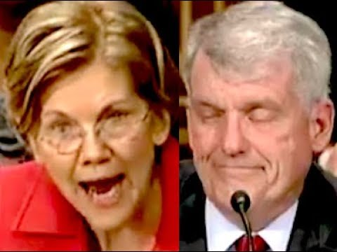 """YOU SHOULD BE FIRED!!!"" Elizabeth Warren DESTROYS Wells Fargo CEO Tim Sloan"