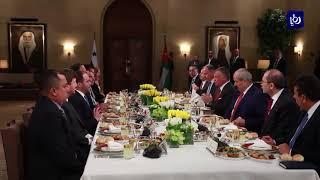 جلالة الملك ورئيس بنما يبحثان مساعي التوصل إلى حلول سياسية لأزمات المنطقة - (27-3-2018)
