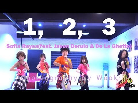1, 2, 3 - Sofia Reyes feat. Jason Derulo & De La Ghetto / Zumba® / Easy Dance Fitness Choreography