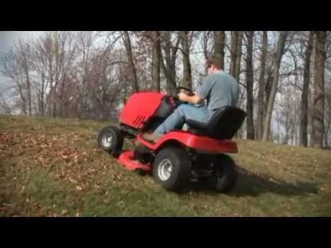 Simplicity Mowers Traction Control.flv
