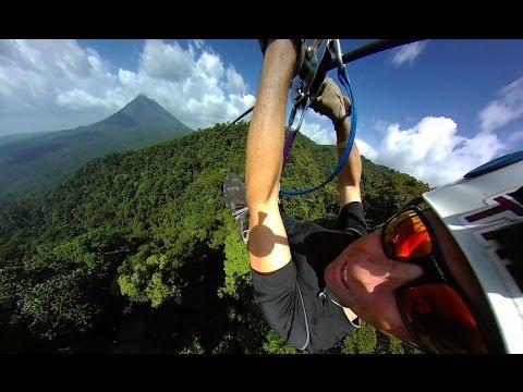 Zipline Sky Trek Sky Adventures Arenal Park, Costa Rica 360fly