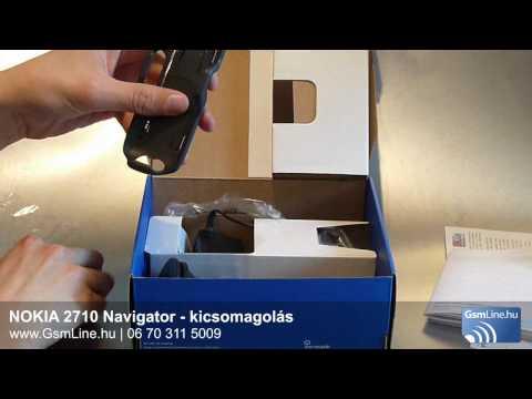 Nokia 2710 Navigator - kicsomagolás | www.Gsmline.hu | HD