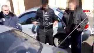 Задержание наркоманов в Керчи