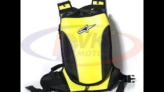 Мото обзор рюкзака Alpinestars