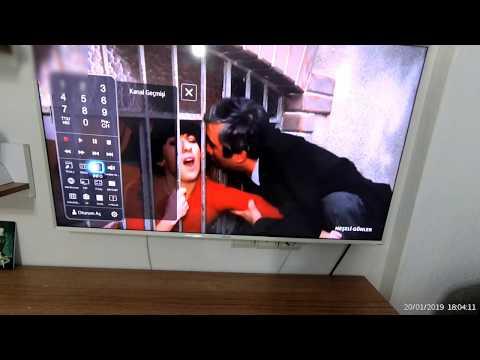 Smart TV den USB belleğe Kanal Kopyalama, Yükleme