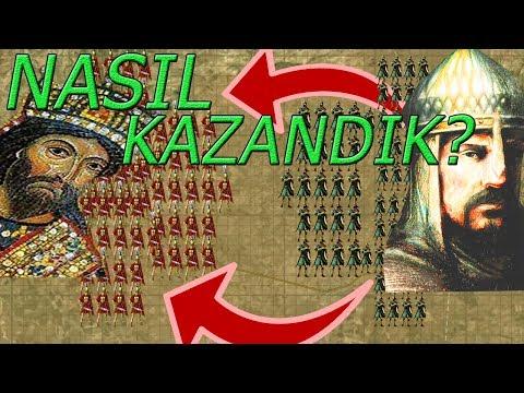 Malazgirt Savasi Sultan Alparslan Ve Turan Taktigi