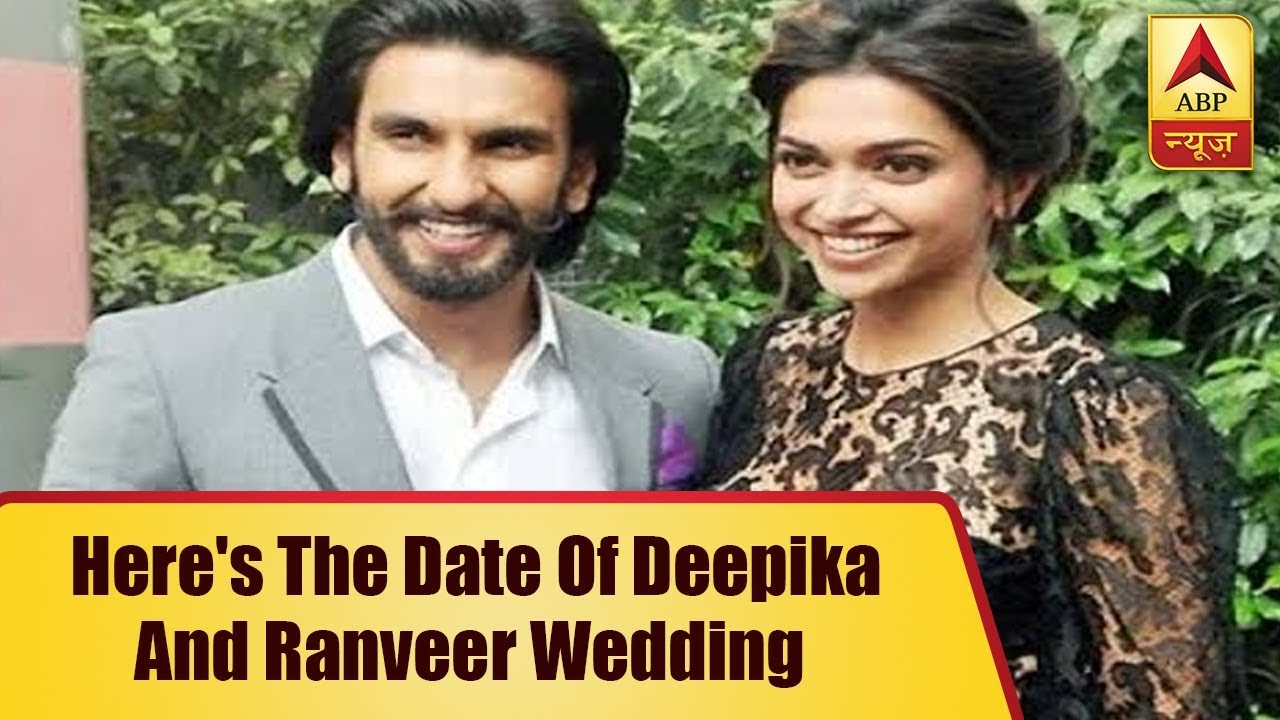 Here's The Date Of Deepika Padukone And Ranveer Singh ...