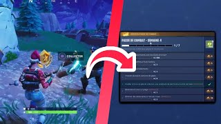 HOW TO THE COMBAT PASS DEFI WEEK 5 - FORTNITE BATTLE ROYALE