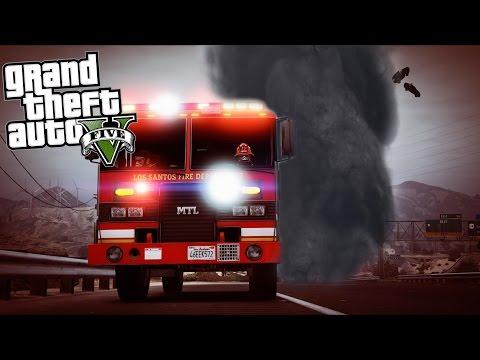 GTA 5 - Tornado Watch in Blaine County!!