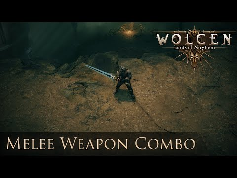 Wolcen Gameplay - Melee Weapon Combos