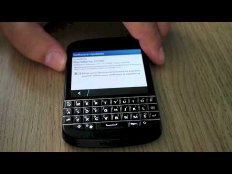 Blackberry 10 os update