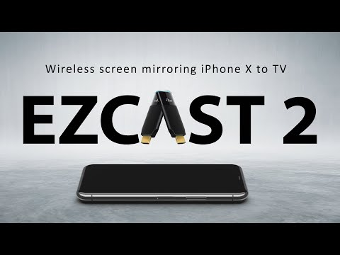 Wireless Screen Mirroring IPhone X To TV In Seconds