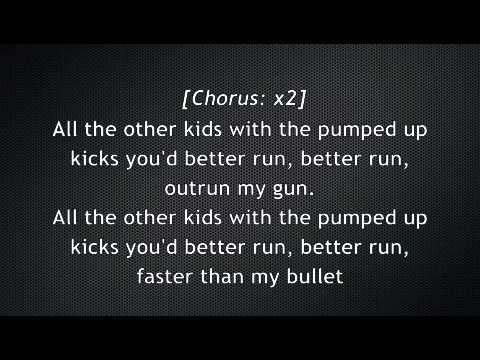 Pumped Up Kicks Lyrics- Foster the People