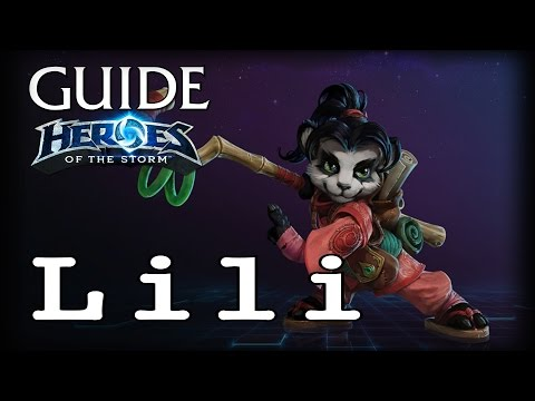 видео: Гайд Лили hots - guide lili heroes of the storm - hots Гайд Лили