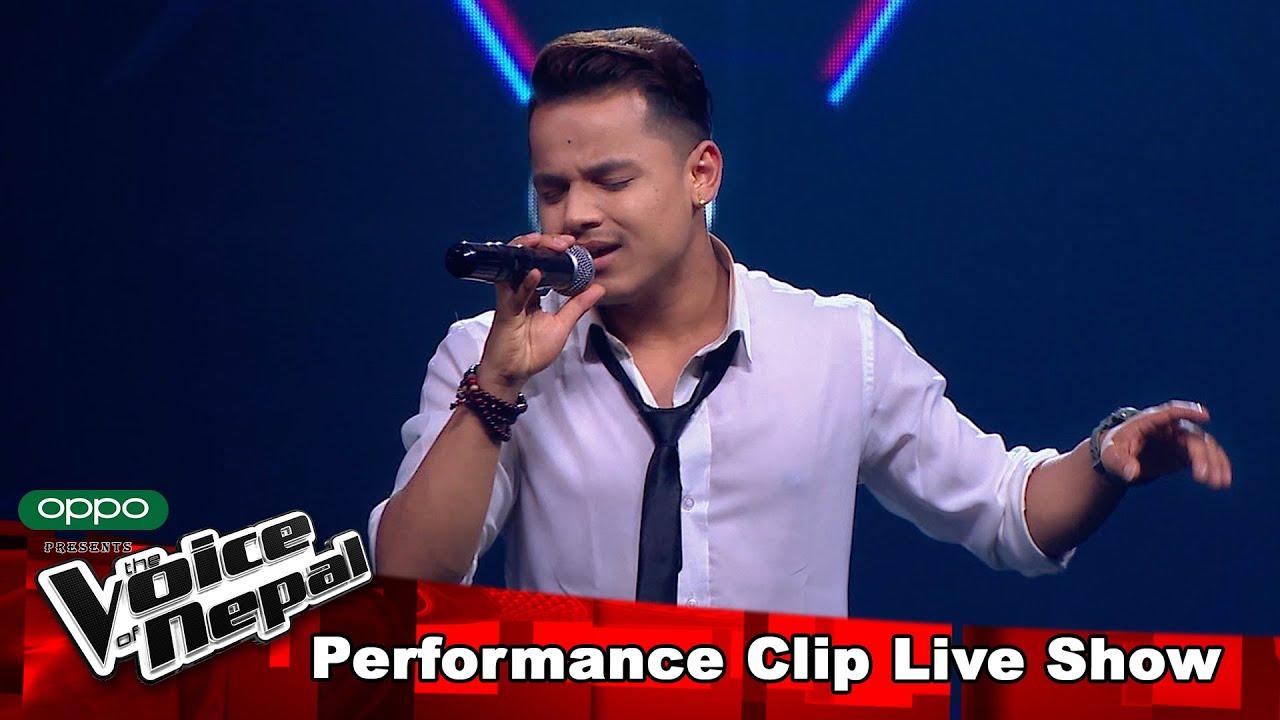 "Kiran Gajmer ""Lajayera..."" | LIVE Show Performance | The Voice of Nepal S3"