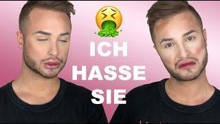 Zum Kotzen! Full Face mit Produkten die ich hasse! | Maxim Giacomo