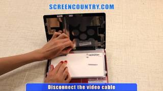 How To Replace Laptop Screen, LCD Installation Tutorial on Acer Aspire One D270