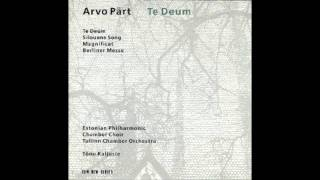 Te Deum - Arvo Part (part 1)