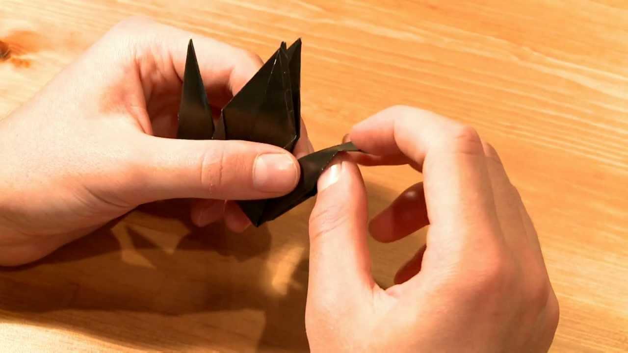 видео-схема водяной бомбочки оригами