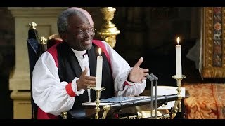 Bishop Michael Curry on preaching at the royal wedding and getting ribbed on SNL