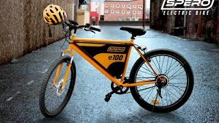 India's first crowdfunded eco-friendly electric bike – Spero has been launched