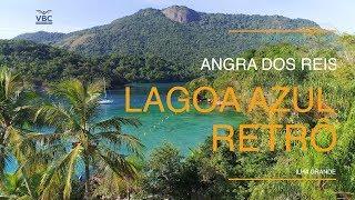🌴Angra dos Reis🌴 Lagoa Azul RETRÔ - Ilha Grande