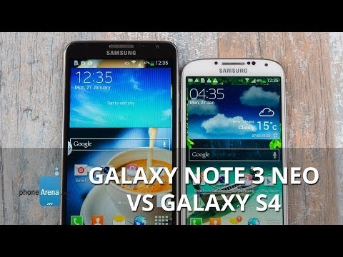 Samsung Galaxy Note 3 Neo Vs Samsung Galaxy S4: First Look