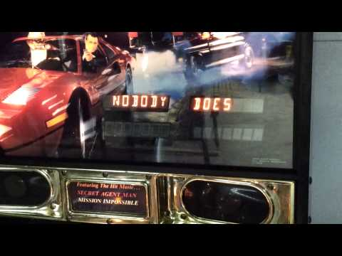 Secret Service pinball - Nobody Does It Better