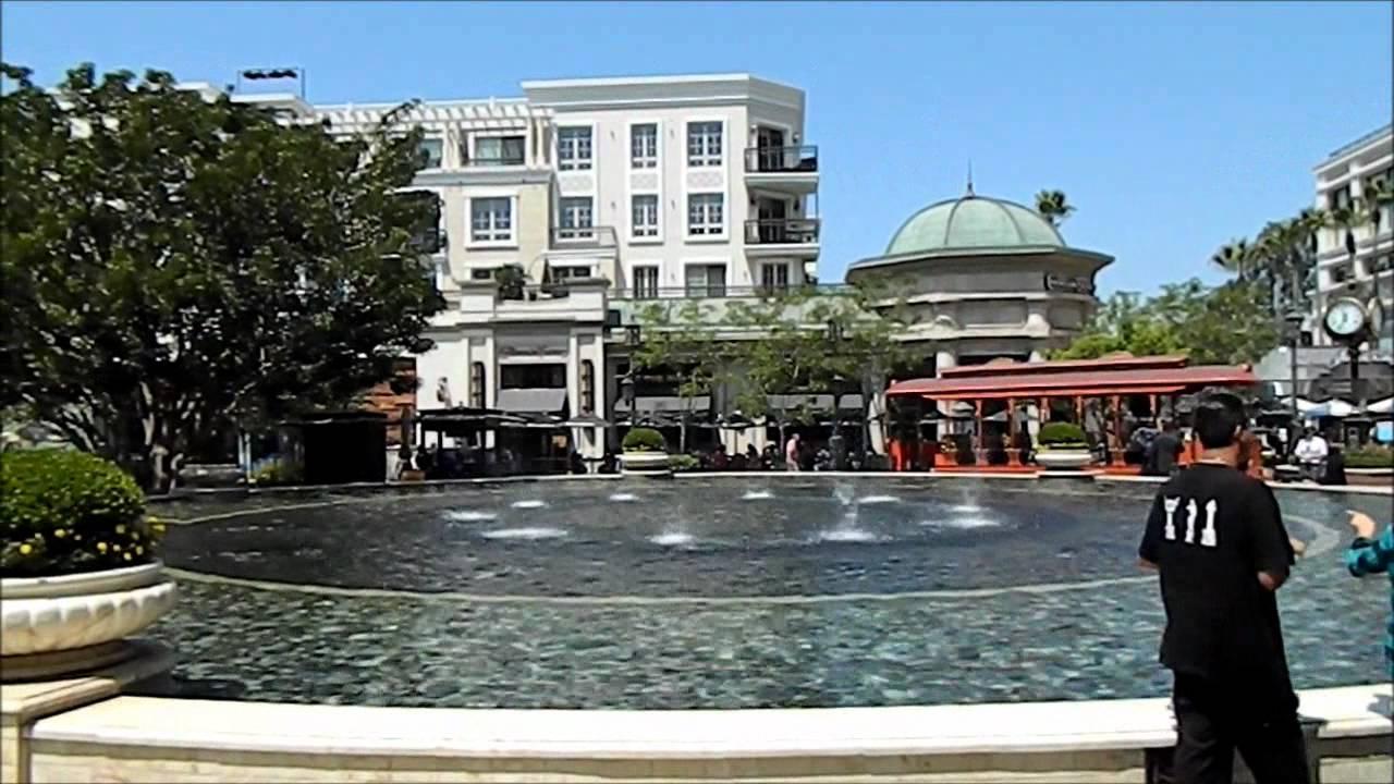 Glendale La Americana Mall Youtube