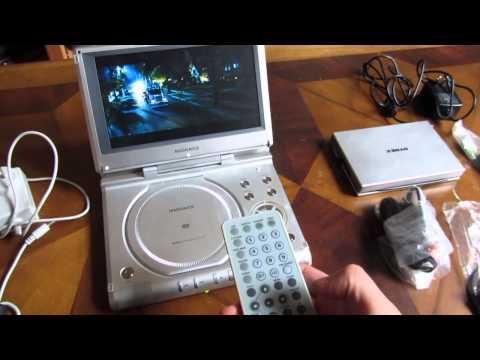 Magnavox Portable DVD Player MPD850