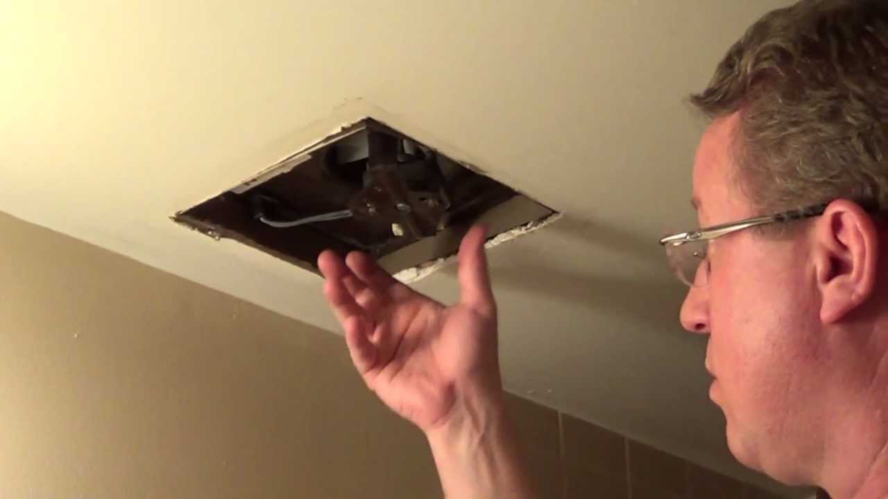 Replace A Bathroom Fan Nautilus Fan Bath Fan Motor Replacement Youtube