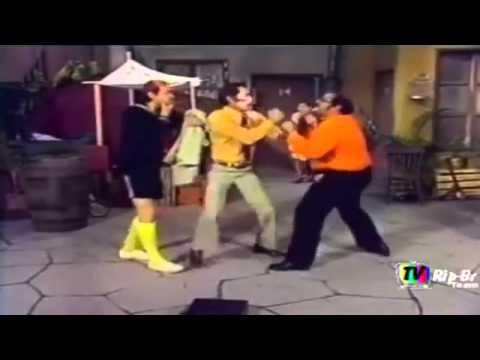 Seu Madruga vs Seu Barriga - O duelo!