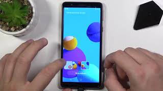 Jak zmienić tapetę Locksceen w SAMSUNG Galaxy M01 Core