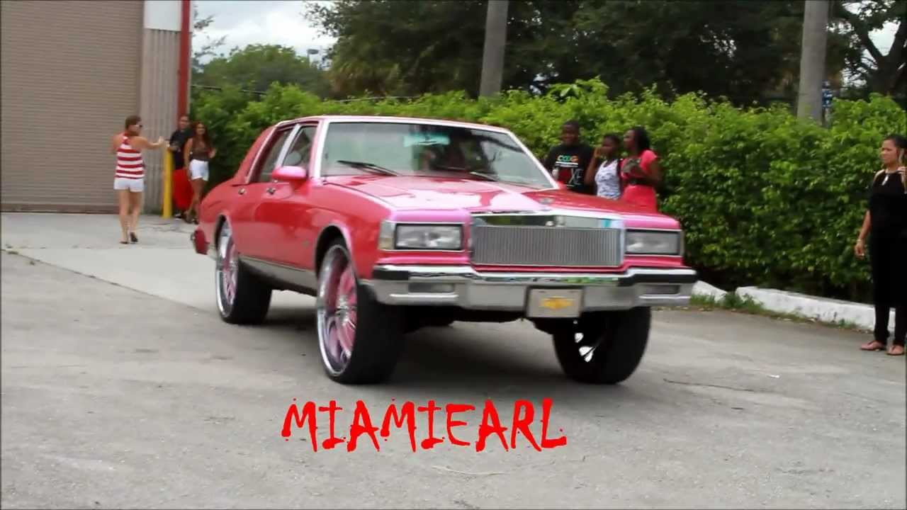 Pink Box Chevy LS Brougham on 28's/ Gator- X102.3 Car Show ...