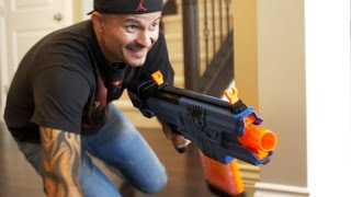NERF RIVAL WAR: The Last Pizza!