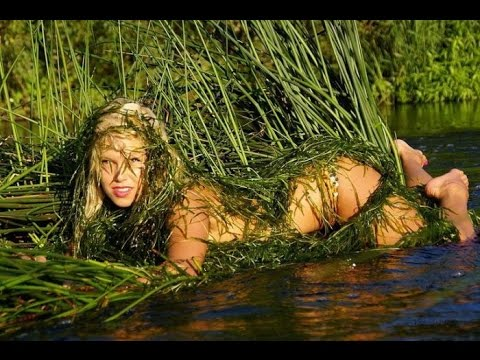 Nude Women In The Mud