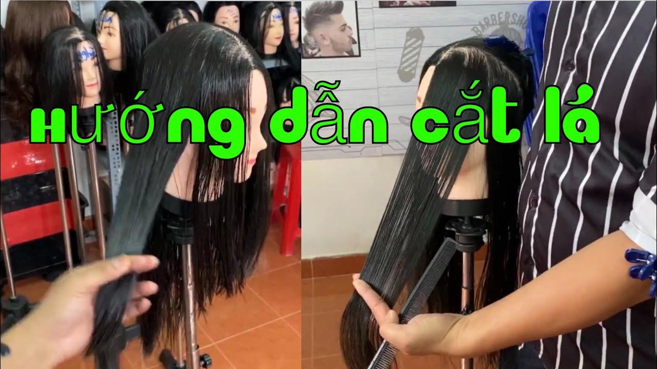 Hướng dẫn cắt tóc lá sole nhọn