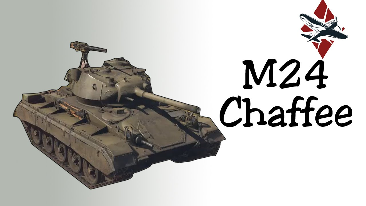 war thunder m24 chaffee