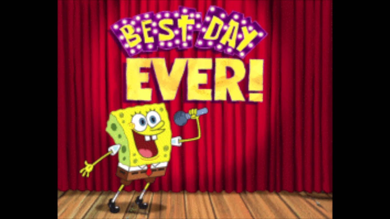spongebob in welsh the best day ever youtube. Black Bedroom Furniture Sets. Home Design Ideas
