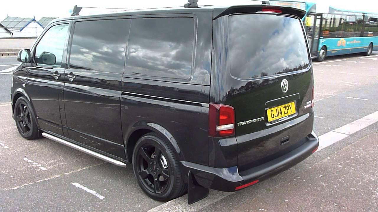 2014 vw transporter t5 sportline 180ps t32  black volkswagen  p1060440