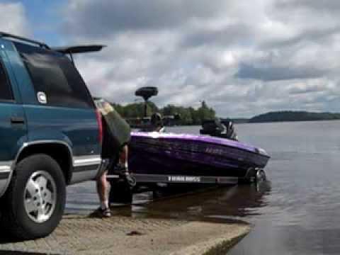hqdefault launching a cajun bass boat youtube