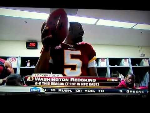 Donovan McNabb Post-Redskins-Eagles Locker Room Speech