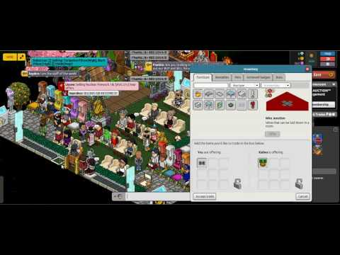 HABBO HOW TO TROLL AUCTION!!!!!!!!!!